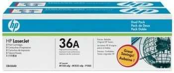 HP LaserJet CB436A Dual Pack Black Print