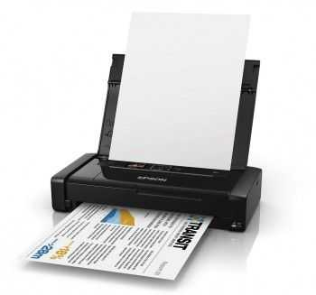 Imprimanta Portabila InkJet A4 Epson WorkForce WF-100W