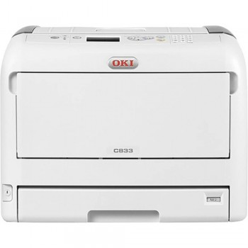 Imprimanta Laser Color Oki C833dn