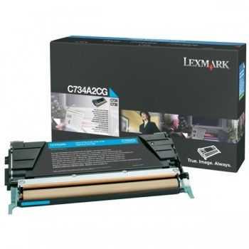Lexmark Cartridge (C734A2CG)  Cyan 6k