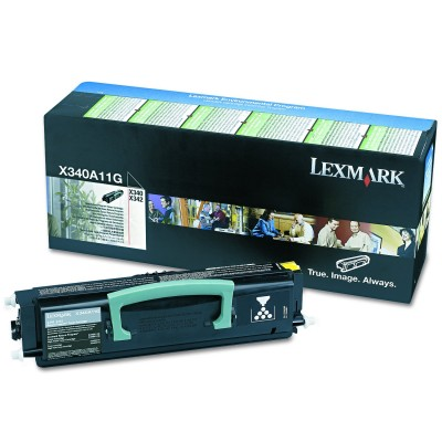 Toner Lexmark X340A11G Return Black 2.500 Pagini