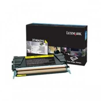 Lexmark Cartridge Yellow (X746A3YG)