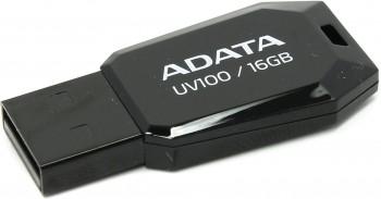 Memorie USB Adata UV100 16GB USB 2.0 Negru