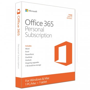 Microsoft Office 365 32/64 bit, Engleza, Subscriptie 1 An 1 PC