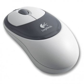 Mouse Logitech OEM Wireless cu bila USB+PS2