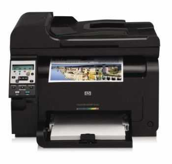 Multifunctional A4 HP LaserJet Pro 100 color MFP M175