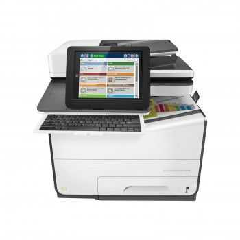 Multifunctional HP inkjet A4 PegeWide Enterprise Color Flow MFP 586Z