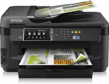 Multifunctional inkjet Epson Workforce WF-7610DWF, A3