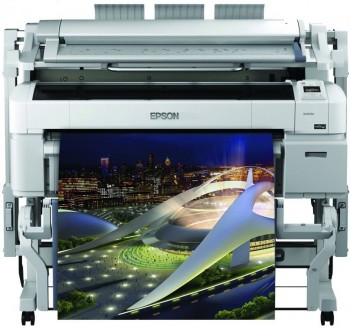 Multifunctionala 36'' Epson SureColor SC-T5200 PS MFP