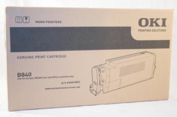 Toner Cartridge Oki B840 Black 20000 Pagini (44661802)