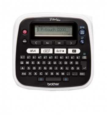 P-touch imprimanta etichete PTD200BWVP