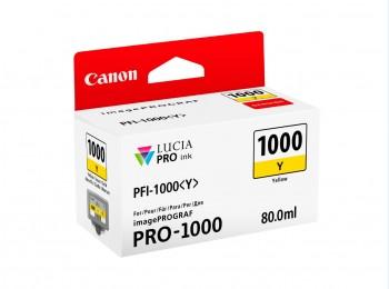 Rezervor de Cerneala Yellow PFI-1000Y