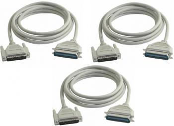Set 3 Bucati Cabluri Imprimanta Bidirectional 1.8m