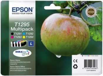 Set cartus Epson T1295 negru si color patru bucati