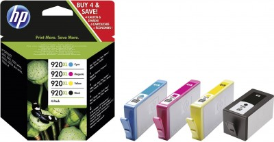Set Cartuse Cerneala HP 920XL CMYK