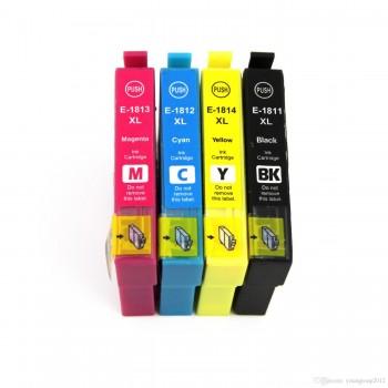 Set Cartuse Compatibile Epson 18XL Black, Cyan, Magenta, Yellow