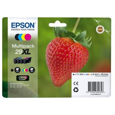 Set Cartuse Epson Nr. 29XL Color si Black (C13T29964510)