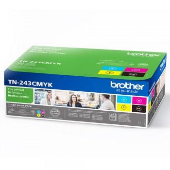 Set Tonere Brother TN243 Cyan, Magenta, Yellow, Black 1.000 Pagini