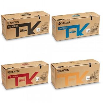 Set Tonere Kyocera TK-5280 Black, Cyan, Magenta, Yellow
