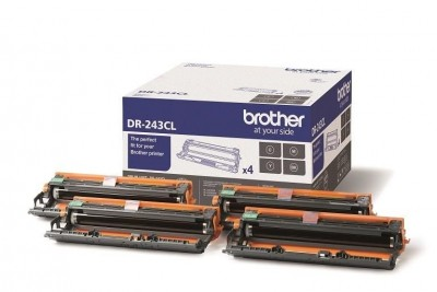 Set Unitati de Cilindru Brother B/C/M/Y DR-243CL 18.000 Pagini