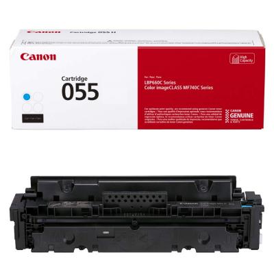 Toner Canon CRG055C Cyan 2.100 Pagini