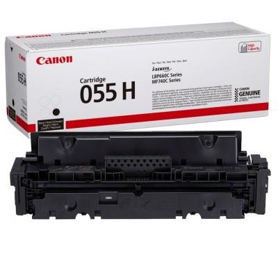 Toner Canon CRG055HBK Negru 7.600 Pagini