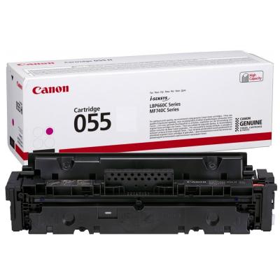 Toner Canon CRG055M Magenta 2.100 Pagini
