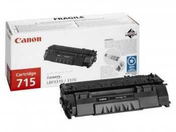 Toner Canon CRG715 black 3000 pagini