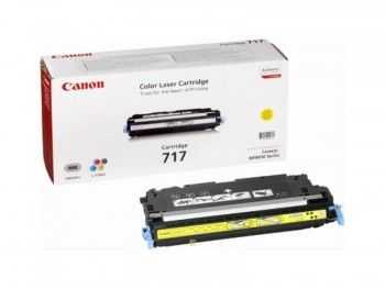Toner Canon CRG717Y yellow