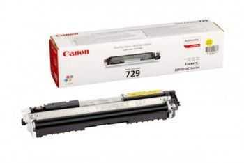 Toner Canon CRG729Y yellow LBP7018C 1000 pagini