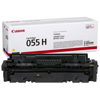 Toner Canon High Yield CRG055HY Yellow 5.900 Pagini