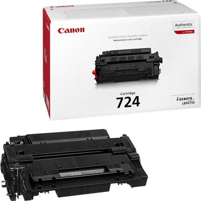 Toner Canon CRG724 Black 6000 Pagini