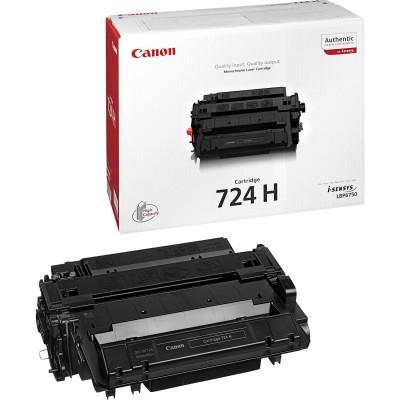 Toner Canon CRG724H Black 12500 Pagini