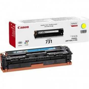 Toner Cartridge LBP7100C LBP7110C CRG731Y yellow 1500 pagini