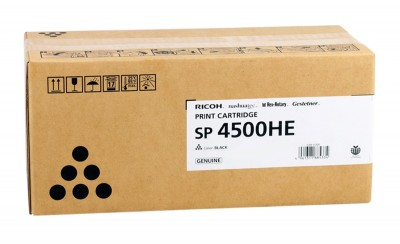 Toner Cartridge Ricoh Type SP 4500 HC Black 12000 Pagini (407318)