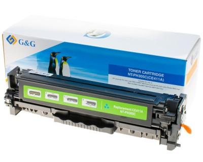 Toner Compatibil CE411A Cyan 2600 Pagini