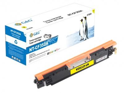 Toner Compatibil CF352A Yellow 130A 1000 Pagini