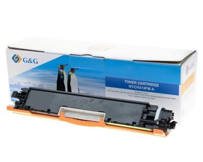 Toner Compatibil CP1025 126A Magenta 1000 Pagini