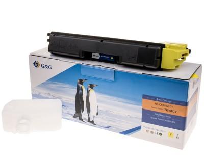 Toner compatibil FS-C5150DN TK-580Y yellow 2800 pagini