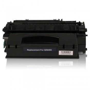 Toner compatibil HP 49X black 6000 pagini