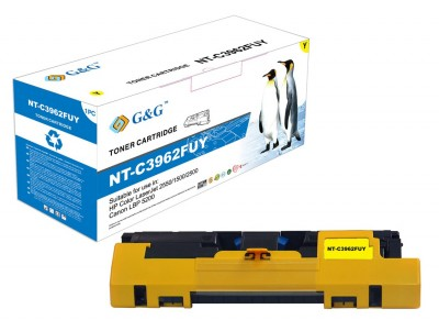 Toner compatibil HP Color LaserJet 2550 2800 yellow 4000 pagini