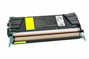 Toner compatibil Lexmark C522 C524 C530 C532 C534  yellow