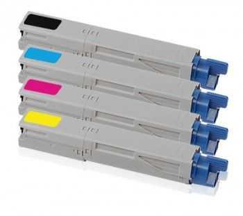 Toner compatibil Oki C5250 C5450 mare capacitate cyan