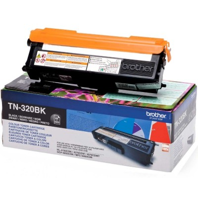 Toner Brother TN320BK Black 2.500 Pagini