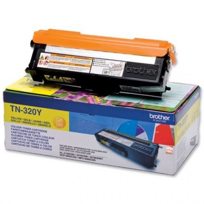 Toner TN320Y Brother Yellow 1.500 Pagini