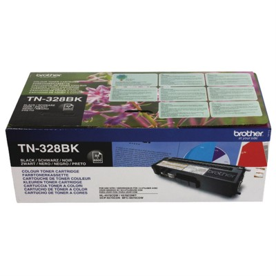 Toner Brother TN328BK Black 6.000 Pagini