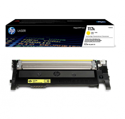 Toner HP 117A W2072A Yellow 700 Pagini
