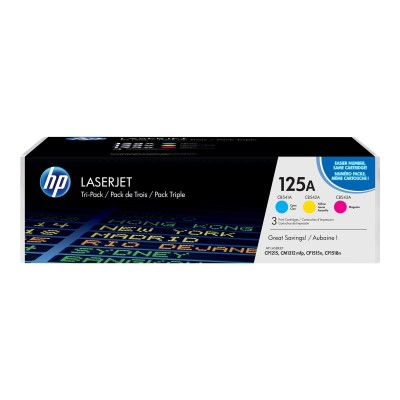 Toner HP 125A CyanMagentaYellow CF373AM