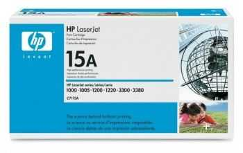 Toner HP 15A black