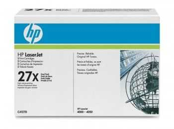 Toner HP 27X Dual Pack black
